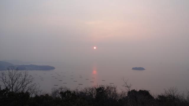 朝焼けの景色