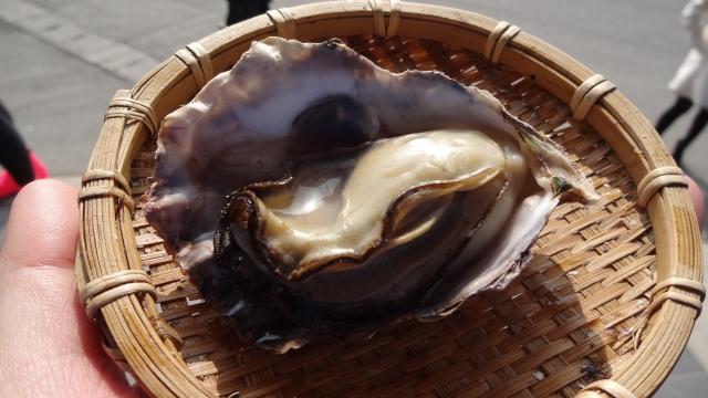 焼き牡蛎2