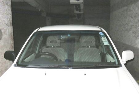左右のドアミラーが違う私の車