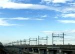 新幹線風景