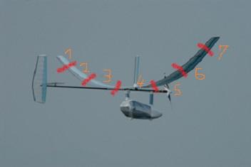 機体全体M32-主翼分割