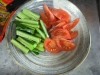 キュウリとトマト
