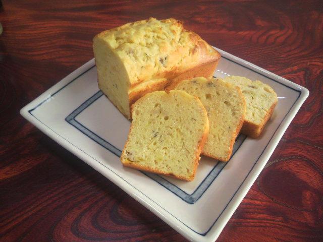 パウンドケーキ(ディルとバナナ)2