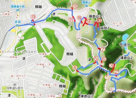 s鎌倉山マップ