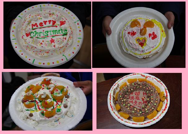 1年ケーキ全部