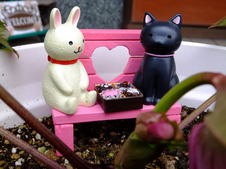 バレンタインデート10