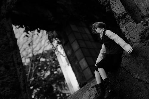 PARABOX、27cmスリム、弥勒ヘッド、礼二郎の初めての屋外撮影