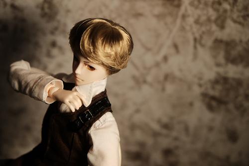 PARABOX、27cmスリム、弥勒ヘッド、メイクカスタム、髪もカットしました