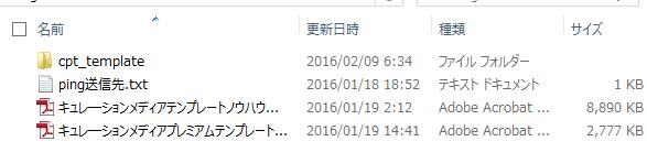CPTキュレーションメディアプレミアテンプレートのマニュアル全編