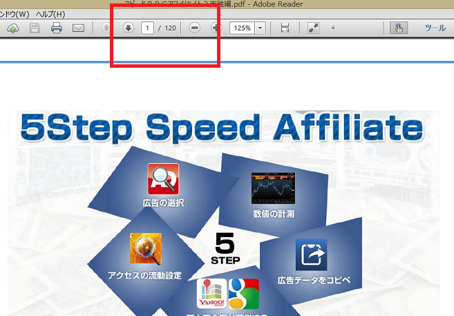 5Step Speed Affiliete(5ステップスピードアフィリエイト)のPPCマニュアル実践png