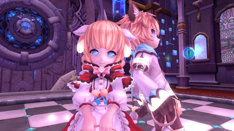 基本無料のアニメチックファンタジーオンラインゲーム『幻想神域』 本日より幻神殿堂」に新ルート「1人用超地獄級」を実装