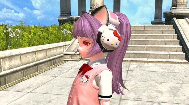 基本無料のファンタジーMMORPG『TERA(テラ)』 ハローキティのアバターが登場するコラボを開催‼新クラス「くノ一」も実装
