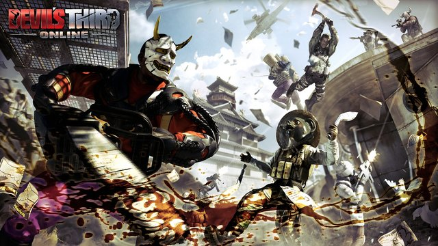 基本プレイ無料の新作アクションオンラインゲーム 『デビルズサードオンライン』