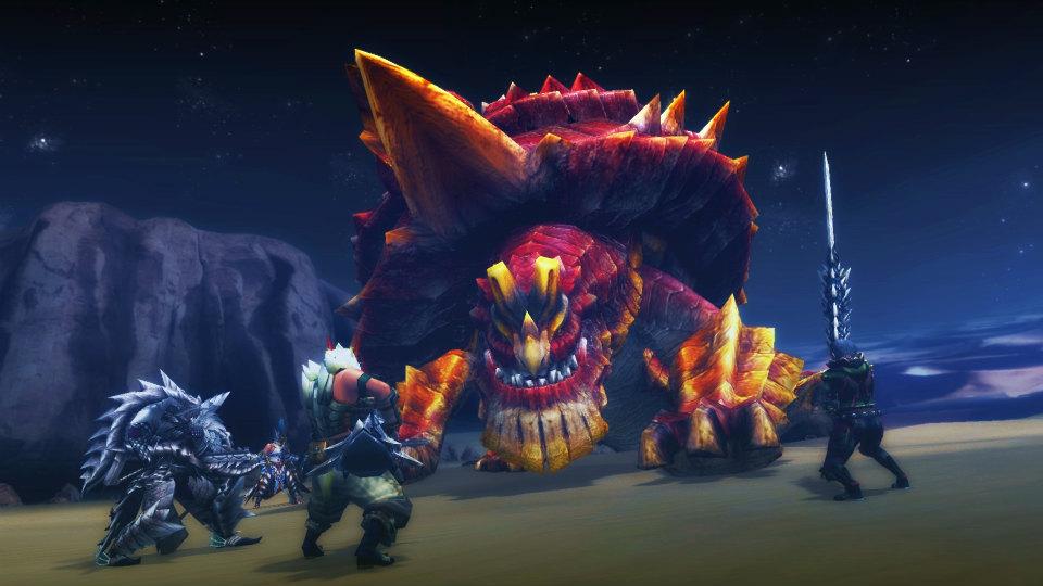 レベル99まで無料で遊べるハンティングアクションオンラインゲーム『モンスターハンターフロンティアG』 弩岩竜オディバトラスkの狩猟が可能になったぞ~!!