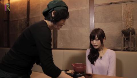 RTV#4 抹茶のチョコフォンデュがテレビで話題の隠れ家カフェ 「神楽坂 茶寮・本店」を声優の立花理香さんがリポートします!