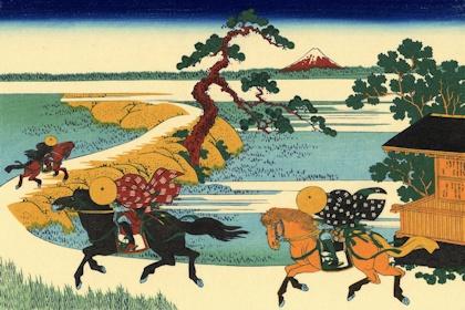 葛飾北斎 「隅田川関屋の里」