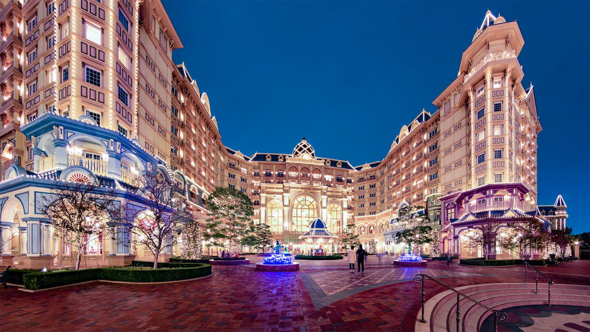 牛若丸 東京ディズニーランドホテル クリスマスの頃(ディズニーホテル