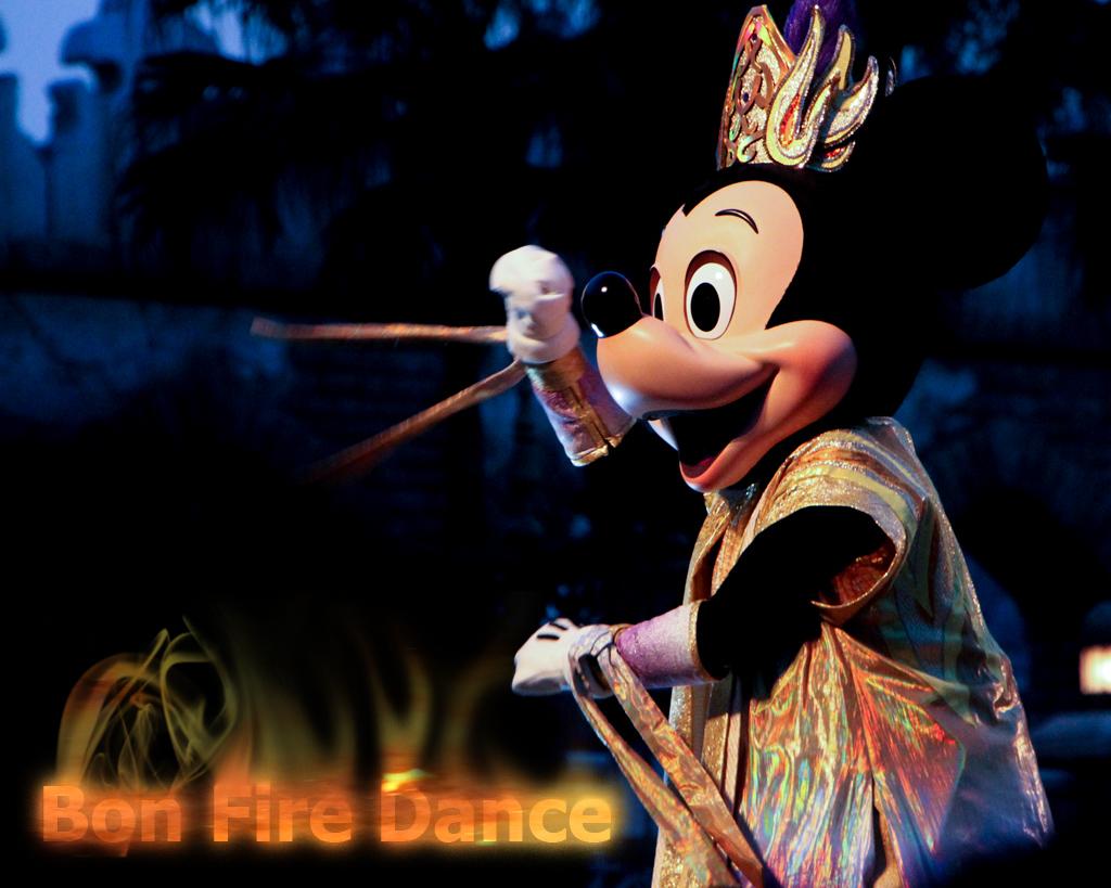 ミッキー(ボンファイアーダンス 2010)