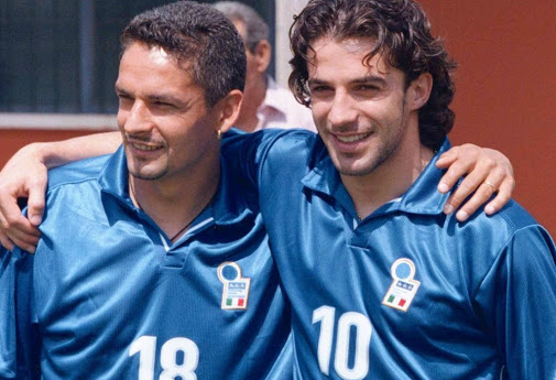 Baggio and Me versus Del Piero