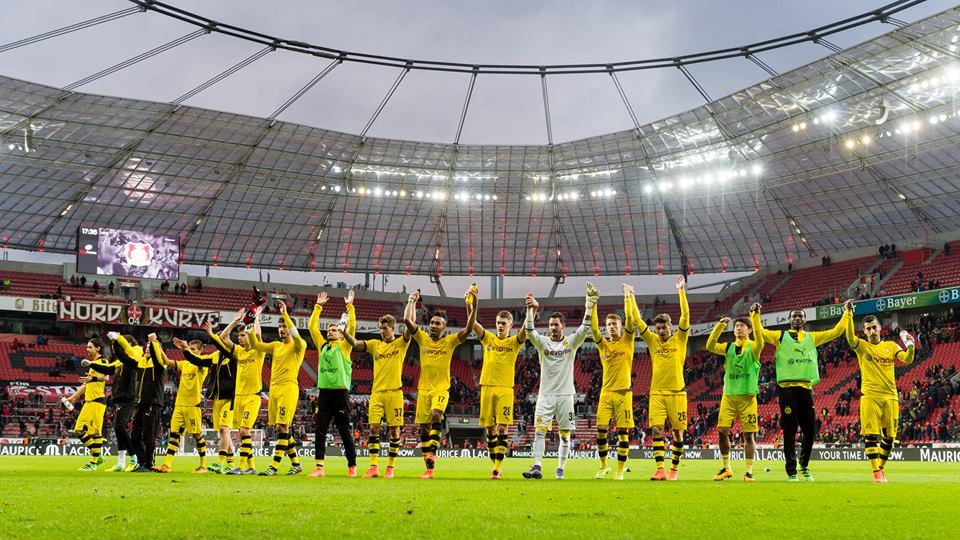 Leverkusen against Dortmund 0_1 auba