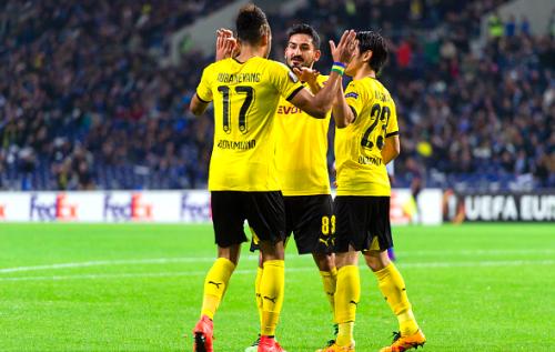 Dortmund enter the UEL last 16 round porto
