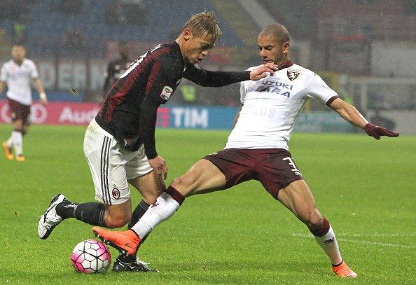 Full Time Fischio Finale MilanTorino 1-0 honda keisuke