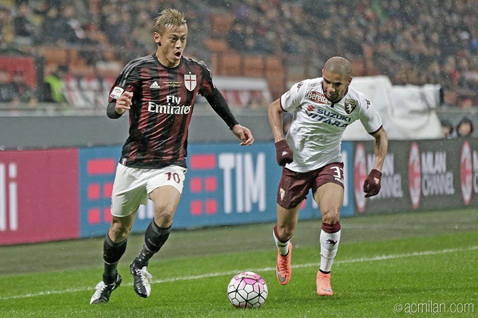 MilanTorino 1-0 honda keisuke