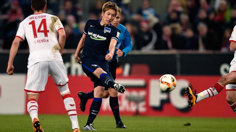 Köln vs Hertha haraguchi kiten 0_1
