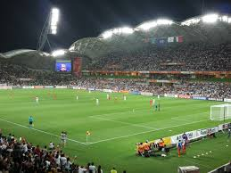 Melbourne Rectangular Stadium during the Iran vs Bahrain match