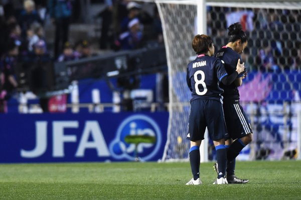 Japan women's soccer team fails to qualify for Olympics RoadToRio