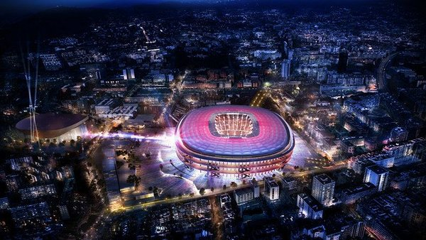 Barca have just announced Japanese architects Nikken Sekkei have won comp to design new Camp Nou