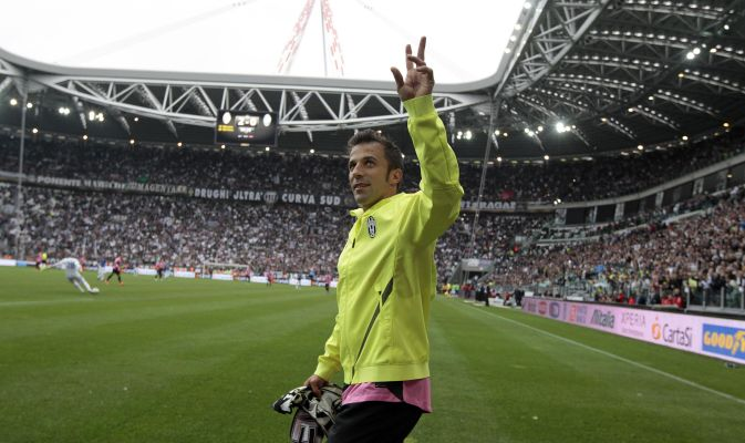 Del Piero last game