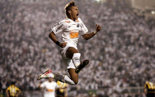 Neymar dá uma de locutor e narra próprio gol da final