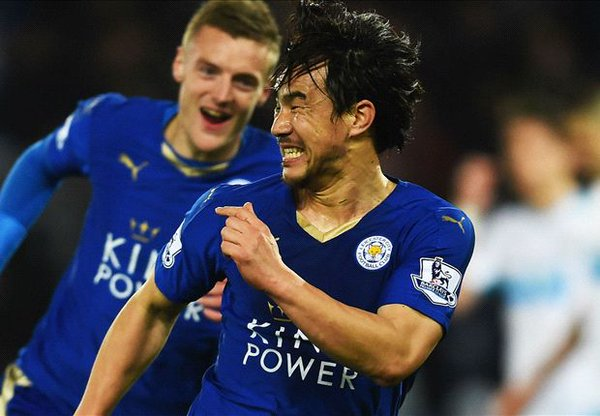 Okazaki's bicycle kick lifts Leicester to lead vs Newcastle