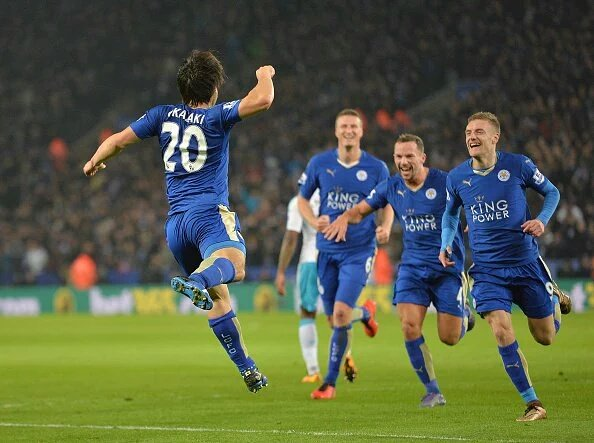 Outrageous Okazaki strike fires Leicester past Rafa's struggling Newcastle