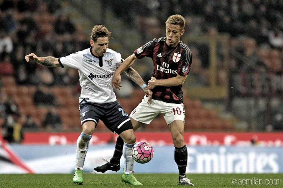 honda keisuke Milan 1 - 1 Lazio (Bacca - Parolo)