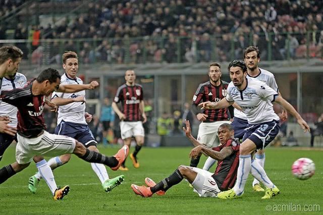 Milan 1 - 1 Lazio (Bacca - Parolo)