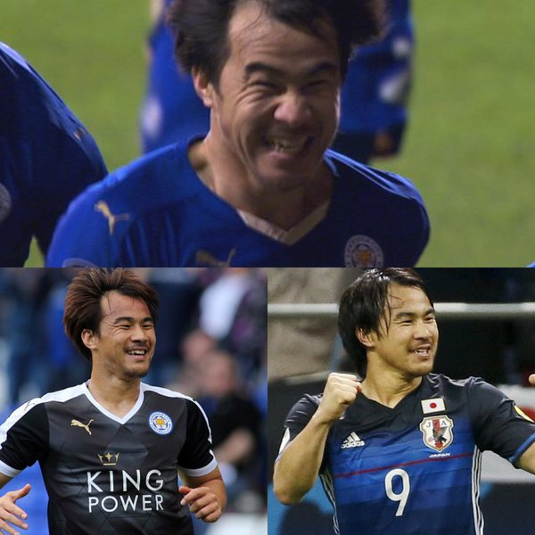 When Okazaki smiles everyone smiles