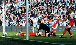 Aguero Goal qpr