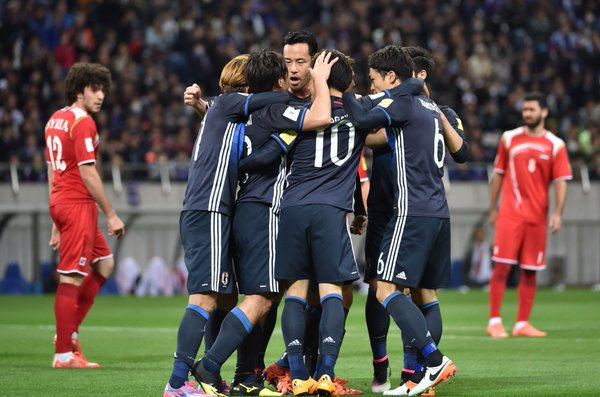 FT Japan 5-0 Syria Hosts cruise to win, top Group E without conceding