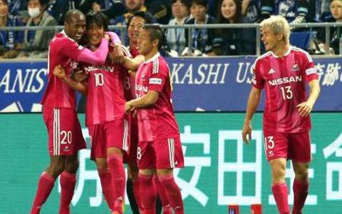 nakamura shunsuke goal against gamba osaka 2016