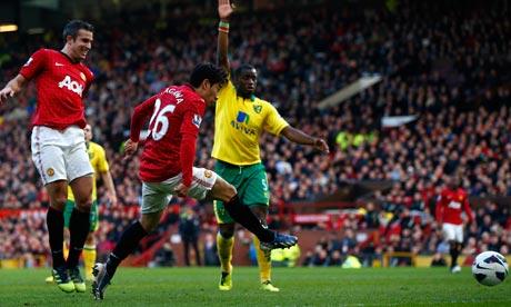 Shinji-Kagawa-Manchester 4-0 Norwich City
