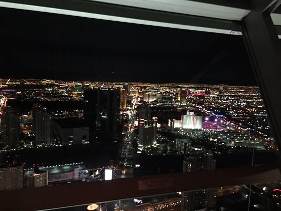 ラスベガス夜景