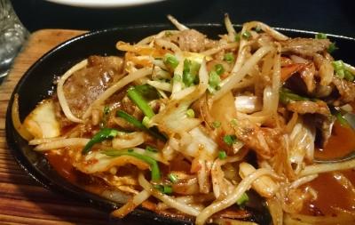 牛キムチ野菜炒め680