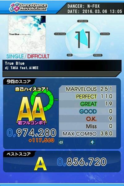 True Blue DSP AA 緑コン