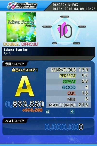 Sakura Sunrise DDP A