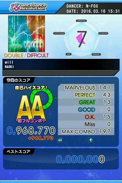 will DDP AA 緑コン
