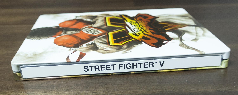 ストリートファイター5 スチールブック