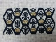 刺繍ブラックワーク