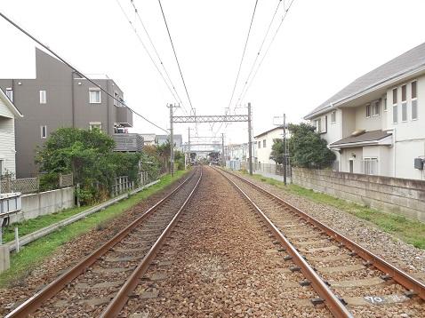 小田急江ノ島線の本鵠沼7号踏切@藤沢市g